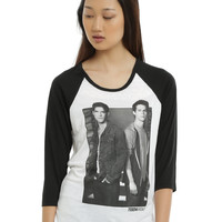 Teen Wolf Wolf's Best Friend Girls Raglan