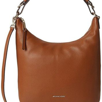 DCCKHI2 MICHAEL Michael Kors Lupita Large Hobo Bag Luggage