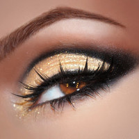 BEAUTYPHORIA: Gold Shimmer Eye & Bubblegum Pink