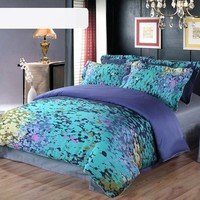 Satin twill four pieces bedding suit DB0015-09 from House Beauty