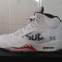 Air Jordan Retro 5 Supreme