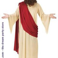 Men's Jesus Adult Costume - White - One-Size for Christmas