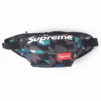 Men's and Women's Supreme Chest Pockets Oxford Casual Riding Bag 037