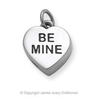 """Be Mine"" Heart Charm from James Avery"