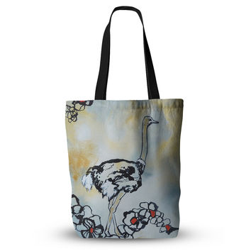 "Sonal Nathwani ""Ostrich"" Everything Tote Bag"