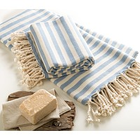Handmade Cotton Beach Towel Turkish Towel Ada