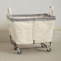 Mobile Canvas Bin  by Anthropologie Neutral One