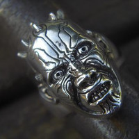 Darth Maul ring in sterling silver by Billyrebs on Etsy