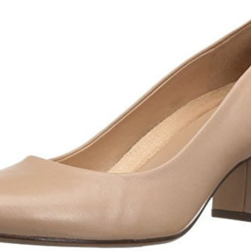 NATURALIZER WOMENS WHITNEY DRESS PUMP, TAUPE, 7 W US