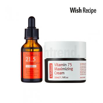 WISH RECIPE | Vitamin Starter Kit (For Dull Skin)