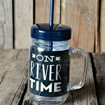 ON RIVER TIME MASON TUMBLER