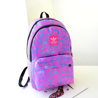 """Adidas"" Crisscross Casual Bag College Laptop Travel Cycling Backpack"