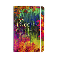 "Ebi Emporium ""Bloom Where You're Planted"" Floral Everything Notebook"