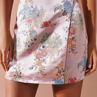UO Sarina Silky Wrap Mini Skirt | Urban Outfitters
