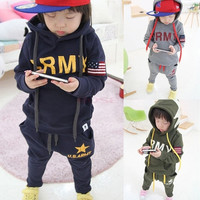 Boys Clothing Sets Children's Suits Autumn And Winter Long-Sleeved Sport Suit Baby Clothes Kids Wear SV007695|26601 Children's Clothing = 1745563396