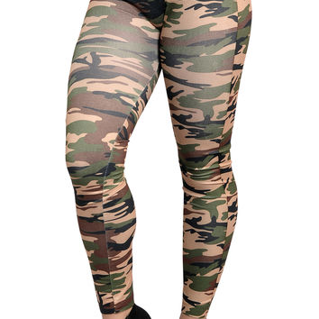 Army Camo Leggings Design 207