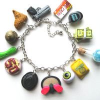 Breaking Bad Charm Bracelet by littleSamantics on Etsy