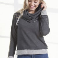 Peyton Funnel Neck Pullover
