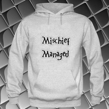 mischief managed Hoodies Hoodie Sweatshirt Sweater white and beauty variant color Unisex size