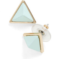 Pyramid Sheen Earrings | Mod Retro Vintage Earrings | ModCloth.com