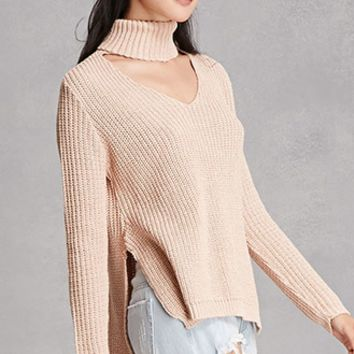 Girl In Mind High-Low Sweater