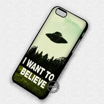 I Want To Believe - iPhone 7 Plus 6 SE Cases & Covers