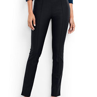 Women's Mid Rise Bi-Stretch Slim Leg Pants