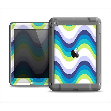 The Fun Colored Vector Sharp Swirly Pattern Apple iPad Air LifeProof Fre Case Skin Set