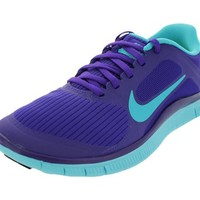 Nike Free Run 40 V LAW Women Running Shoes Electro Purple/Gamma Blue 580406-540 (SIZE: 85)