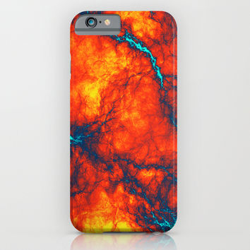 Abstract Thunder iPhone & iPod Case by Sanja Amic
