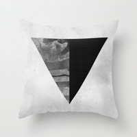 GEOMETRY 1 Throw Pillow by LEEMO