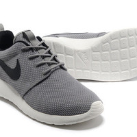 n007 Nike Roshe Run Mesh (Grey/Black)