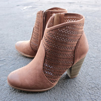 shaking it off suede ankle boots - camel