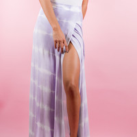 Purple Rain Maxi Skirt