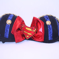Super Man Rave Bra