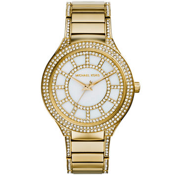 Michael Kors - Kerry Gold-Tone Stainless Steel Watch MK3312
