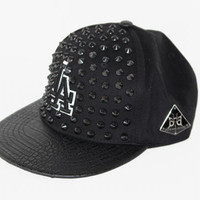 "Been Here Before ""LA"" Dodgers Gator Strapback Black on Black Los Angeles Dodger"
