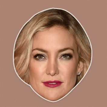 Sad Kate Hudson Mask - Perfect for Halloween, Costume Party Mask, Masquerades, Parties, Festivals, Concerts - Jumbo Size Waterproof Laminated Mask