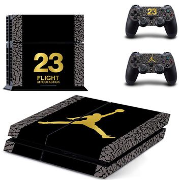 mj jordan ps4 skin cover