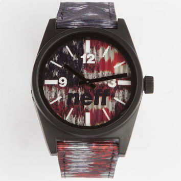 Neff Daily Woven New America Watch Red/White/Blue One Size For Men 24737094801