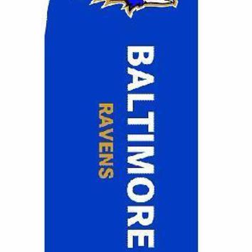 BALTIMORE RAVENS Outdoor Beach Products Flags Banners Feather Flags For 280*340cm Knitted Polyester Without Flagpole
