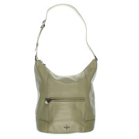 Pour La Victoire Womens Marcelle Leather Buckled Hobo Handbag