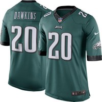 Men's Philadelphia Eagles Brian Dawkins Nike Green Retired Player Limited Jersey