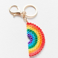ZHUU Beaded Key Chain | Urban Outfitters