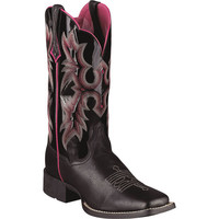 10005866 Women's Western Wide Square Ariat Boots from Bootbay, Internet's Best Selection of Work, Outdoor, Western Boots and Shoes.