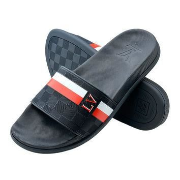 Trendsetter LV Casual Fashion Women Sandal Slipper Shoes