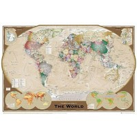 GB Eye World Map Tripel Poster