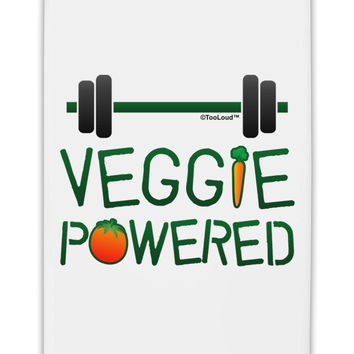 "Veggie Powered Fridge Magnet 2""x3"