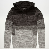 Retrofit Chamonix Mens Hooded Sweater Black  In Sizes