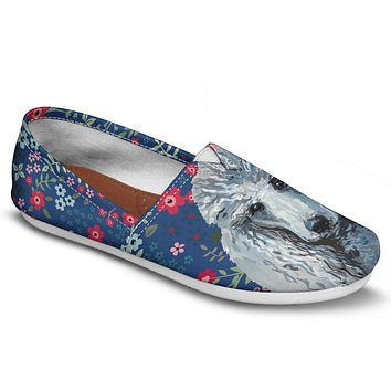 Poodle Sweetheart Casual Shoes